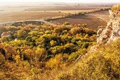 Sezonowa naturalna outdoors scena, koloru żółtego filtr Obraz Royalty Free