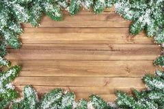 Sezonowy drewniany tło Fotografia Stock