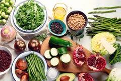Sezonowy jarosz, weganinów kulinarni składniki obrazy royalty free