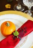 Sezonowy stołowy położenie fotografia royalty free