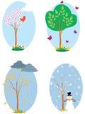 sezony Ilustracji