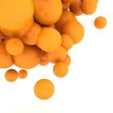 sfärer för abstrakt begrepp 3d Arkivfoton