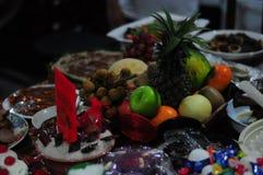 12 sfäriska frukter Arkivfoto