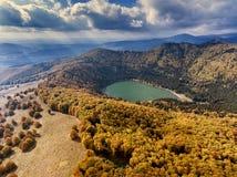 Sf. Ana Lake Near Baile Tusnad Romania Stock Photography