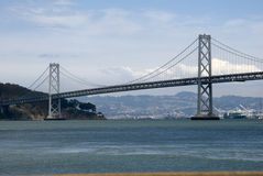 SF Bay Bridge Royalty Free Stock Images