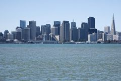 SF Bay View Royalty Free Stock Images