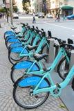 SF bicycle rental Stock Photos