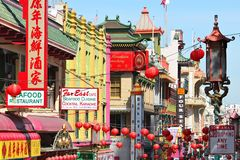 SF Chinatown Stock Image