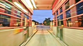 SF de Tijdspanne Golden gate bridge van de stads Rijtijd stock videobeelden