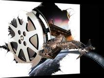 SF/Fantasy 3D Film Lizenzfreies Stockbild