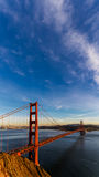 SF Golden Gate Bridge at Sunset Royalty Free Stock Image