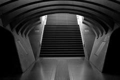 SF Modern Staircase Royalty Free Stock Photos