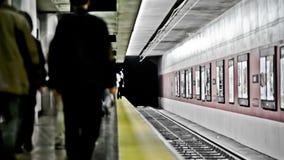 SF Subway Time Lapse. V2. San Francisco subway time lapse stock video footage