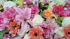 Sfałszowani kwiaty zdjęcia royalty free