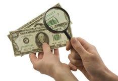 sfałszowany pieniądze Zdjęcie Stock
