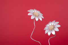 sfałszowani alluminium kwiaty Zdjęcie Royalty Free