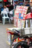 Sfałszowany ID i dokumentu sklep, Bangkok Obraz Royalty Free