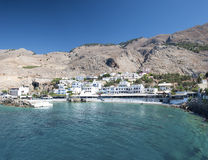 Crete, Sfakia village Royalty Free Stock Photography