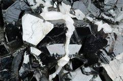 Sfaleryte Mineralhintergrund Lizenzfreies Stockfoto