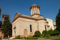 Sfantul Anton Buna Vestire (Old Court Church) Stock Photo