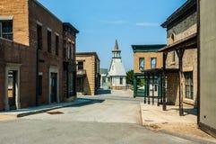 Sfałszowany miasteczko Zdjęcia Stock