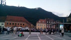 Sfatului Brasov Roumanie de Piata Photographie stock libre de droits