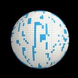 sfera 3D Fotografia Stock Libera da Diritti