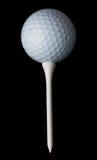 Sfera & T di golf Immagini Stock Libere da Diritti