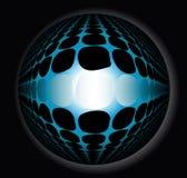 sfera astratta 3d illustrazione di stock