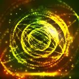 Sfera che consiste dei punti Griglia astratta del globo Illustrazione della sfera progettazione di griglia 3D Concetto di tecnolo Fotografie Stock