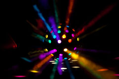 Sfera colorata della discoteca Fotografie Stock Libere da Diritti