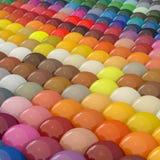 Sfera-Colori sotto il catalogo RAL immagine stock libera da diritti