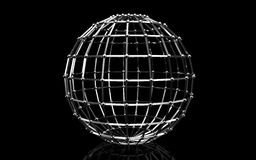sfera 3d Fotografie Stock
