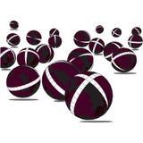 sfera 3d immagini stock