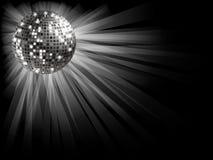 Sfera d'argento della discoteca Fotografia Stock Libera da Diritti