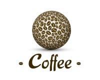 Sfera del caffè Fotografia Stock