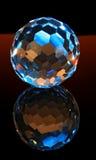 Sfera del cristallo del taglio di magia Immagine Stock Libera da Diritti