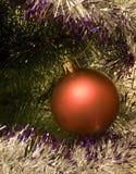 Sfera dell'albero dell'anno Fotografia Stock Libera da Diritti
