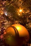 Sfera dell'albero dell'anno Immagine Stock