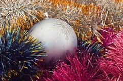 Sfera dell'albero di Natale Immagini Stock Libere da Diritti