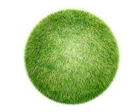 sfera dell'erba 3D Immagini Stock