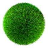 Sfera dell'erba verde royalty illustrazione gratis