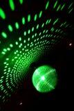 Sfera dell'indicatore luminoso verde Fotografia Stock Libera da Diritti
