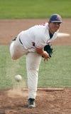Sfera della brocca della tazza del Canada di baseball Fotografia Stock Libera da Diritti