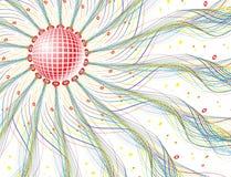 Sfera della discoteca royalty illustrazione gratis