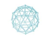 sfera della gabbia della rete 4g Fotografia Stock Libera da Diritti