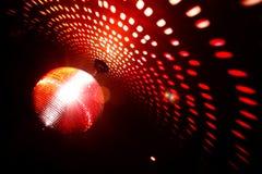 Sfera della luce rossa Fotografie Stock