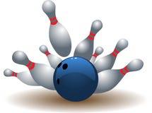 Sfera di bowling immagini stock