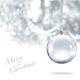 Sfera di Buon Natale Immagine Stock
