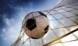 Sfera di calcio Immagini Stock